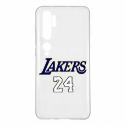 Чехол для Xiaomi Mi Note 10 Lakers 24