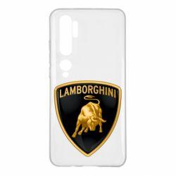 Чохол для Xiaomi Mi Note 10 Lamborghini Logo