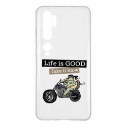 Чохол для Xiaomi Mi Note 10 Life is good, take it show
