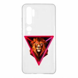 Чохол для Xiaomi Mi Note 10 Lion art