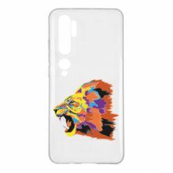 Чехол для Xiaomi Mi Note 10 Lion multicolor