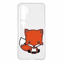 Чехол для Xiaomi Mi Note 10 Лиса