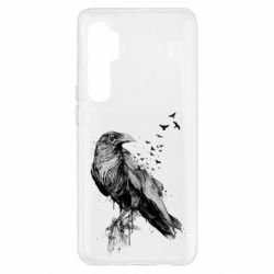 Чохол для Xiaomi Mi Note 10 Lite A pack of ravens