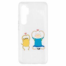 Чехол для Xiaomi Mi Note 10 Lite Adventure time