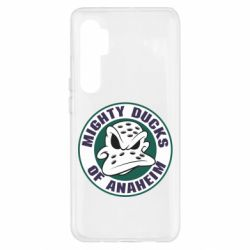 Чехол для Xiaomi Mi Note 10 Lite Anaheim Mighty Ducks Logo
