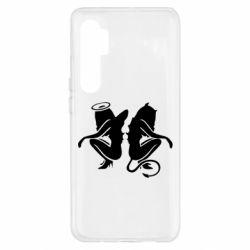 Чохол для Xiaomi Mi Note 10 Lite Ангел і Демон