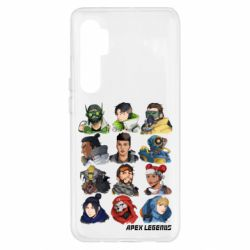 Чохол для Xiaomi Mi Note 10 Lite Apex legends heroes