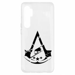 Чехол для Xiaomi Mi Note 10 Lite Assassin's Creed and skull 1