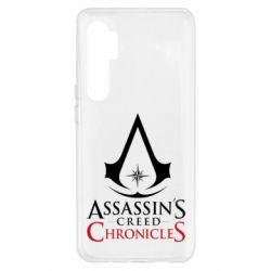 Чохол для Xiaomi Mi Note 10 Lite Assassin's creed ChronicleS
