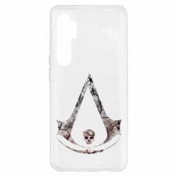 Чехол для Xiaomi Mi Note 10 Lite Assassins Creed and skull