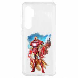Чохол для Xiaomi Mi Note 10 Lite Avengers iron man drawing