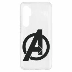 Чехол для Xiaomi Mi Note 10 Lite Avengers logo