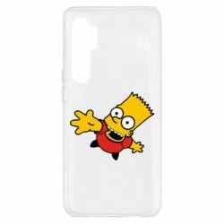 Чохол для Xiaomi Mi Note 10 Lite Барт Симпсон