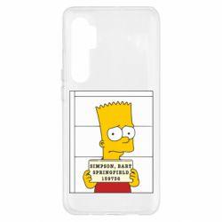 Чехол для Xiaomi Mi Note 10 Lite Барт в тюряге