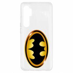 Чохол для Xiaomi Mi Note 10 Lite Batman logo Gold