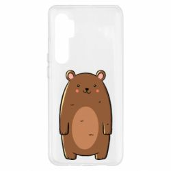 Чехол для Xiaomi Mi Note 10 Lite Bear with a smile