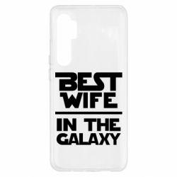 Чехол для Xiaomi Mi Note 10 Lite Best wife in the Galaxy