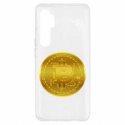 Чохол для Xiaomi Mi Note 10 Lite Bitcoin coin