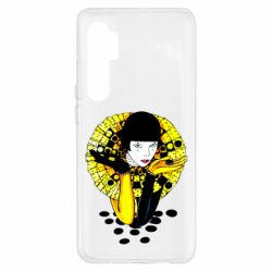 Чехол для Xiaomi Mi Note 10 Lite Black and yellow clown
