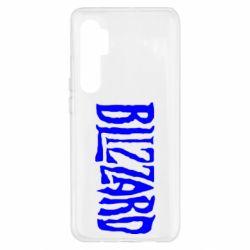 Чохол для Xiaomi Mi Note 10 Lite Blizzard Logo