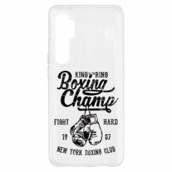 Чохол для Xiaomi Mi Note 10 Lite Boxing Champ
