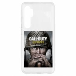 Чохол для Xiaomi Mi Note 10 Lite Call of Duty WW2 poster