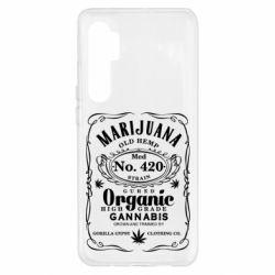 Чохол для Xiaomi Mi Note 10 Lite Cannabis label