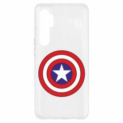 Чехол для Xiaomi Mi Note 10 Lite Captain America