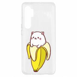 Чехол для Xiaomi Mi Note 10 Lite Cat and Banana
