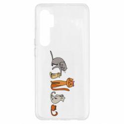 Чехол для Xiaomi Mi Note 10 Lite Cat family