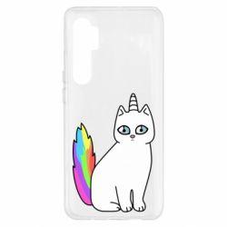 Чехол для Xiaomi Mi Note 10 Lite Cat Unicorn