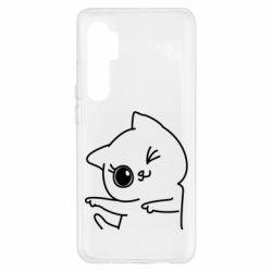 Чехол для Xiaomi Mi Note 10 Lite Cheerful kitten
