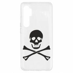 Чохол для Xiaomi Mi Note 10 Lite Череп та кістки