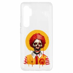 Чохол для Xiaomi Mi Note 10 Lite Clown McDonald's skeleton