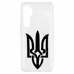 Чехол для Xiaomi Mi Note 10 Lite Coat of arms of Ukraine torn inside