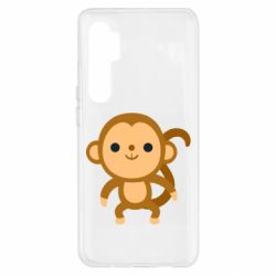 Чехол для Xiaomi Mi Note 10 Lite Colored monkey