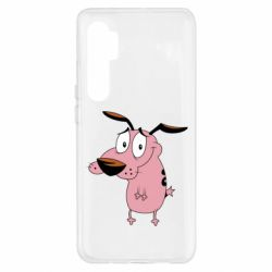 Чохол для Xiaomi Mi Note 10 Lite Courage - a cowardly dog