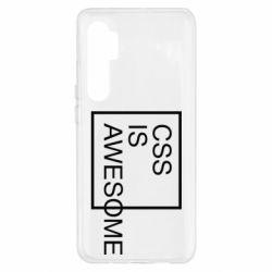 Чохол для Xiaomi Mi Note 10 Lite CSS is awesome
