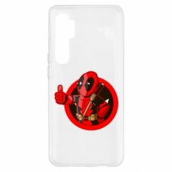 Чехол для Xiaomi Mi Note 10 Lite Deadpool Fallout Boy