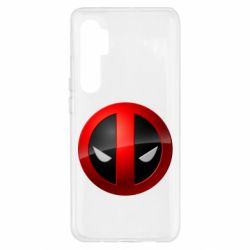 Чохол для Xiaomi Mi Note 10 Lite Deadpool Logo