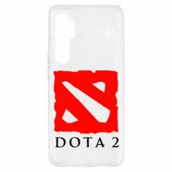 Чехол для Xiaomi Mi Note 10 Lite Dota 2 Big Logo