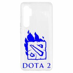 Чохол для Xiaomi Mi Note 10 Lite Dota 2 Fire