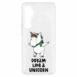 Чехол для Xiaomi Mi Note 10 Lite Dream like a unicorn