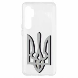 Чохол для Xiaomi Mi Note 10 Lite Двокольоровий герб України