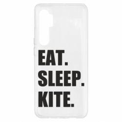 Чохол для Xiaomi Mi Note 10 Lite Eat, sleep, kite