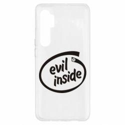 Чохол для Xiaomi Mi Note 10 Lite Evil Inside