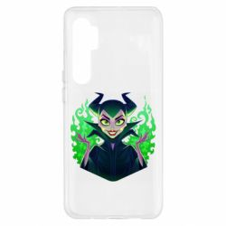 Чехол для Xiaomi Mi Note 10 Lite Evil Maleficent