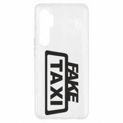 Чохол для Xiaomi Mi Note 10 Lite Fake Taxi