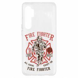 Чохол для Xiaomi Mi Note 10 Lite Fire Fighter
