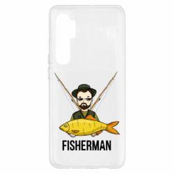 Чохол для Xiaomi Mi Note 10 Lite Fisherman and fish